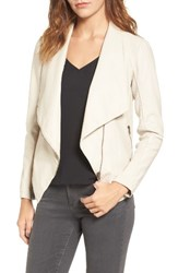 Bb Dakota Women's Laverne Faux Leather Jacket Bone