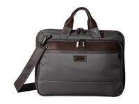 Briggs And Riley Work Medium Expandable Brief Grey Briefcase Bags Gray