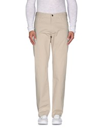 Canali Trousers Casual Trousers Men Beige