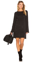 27 Miles Malibu Dita Bell Sleeve Sweater Dress Charcoal