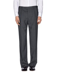 Maestrami Trousers Casual Trousers Men Steel Grey