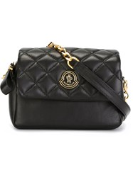 Moncler Quilted Crossbody Bag Black