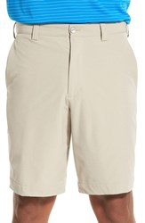 Cutter And Buck Men's Big Tall 'Bainbridge' Drytec Flat Front Shorts