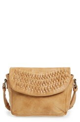Day And Mood 'Frieda' Leather Crossbody Bag Brown Camel