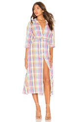 Mds Stripes Shirtdress Pink