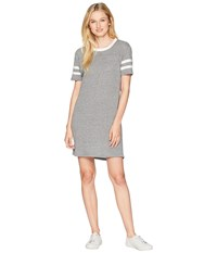 Alternative Apparel Eco Stadium T Shirt Dress Eco Grey Gray