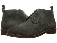 Wolverine Hensel Grey Suede Men's Lace Up Boots Gray
