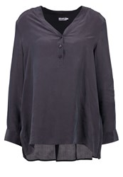 Filippa K Blouse Coal Anthracite