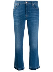 7 For All Mankind Mid Rise Cropped Jeans 60