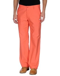 Henry Cotton's Casual Pants Coral