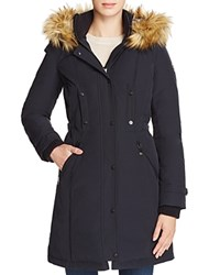 Vince Camuto Active Long Puffer Coat Navy