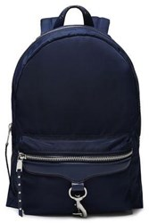 Rebecca Minkoff Woman Twill Backpack Navy