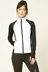 Forever 21 Active Colorblock Puffer Jacket