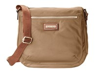 Calvin Klein Key Item Nylon Messenger H3jfe1cw Light Khaki Cross Body Handbags