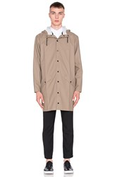 Rains Long Jacket Tan