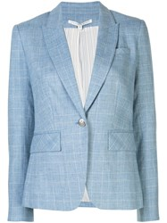 Veronica Beard Check Patterned Fitted Blazer Jacket 60