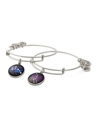 Alex And Ani Big Little Dipper Big Brothers Big Sisters Of America Charm Bangle Set Of 2 Silver