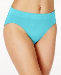 Bali One Smooth U All Over Smoothing High Cut Brief 2362 Glistening Turqouise
