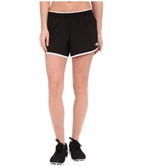 The North Face Reflex Core Shorts Tnf Black Tnf White Women's Shorts