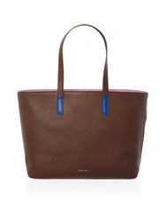 Paul Smith London Colour Tip Tote Bag Brown