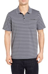 Hurley Men's Dixon Dri Fit Jersey Polo Cool Grey
