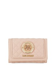 Love Moschino Quilted Wallet Pink