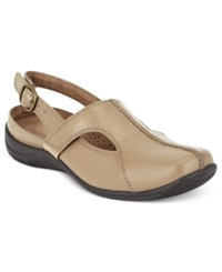 Easy Street Shoes Easy Street Sportster Comfort Clogs Women's Shoes Taupe