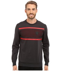 Puma Ferrari Crew Neck Sweater Moonless Night Men's Long Sleeve Pullover Multi