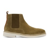 Hudson H By Tan Suede Gallant Chelsea Boots