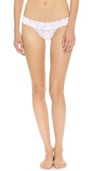 Cosabella Never Say Never Relaxed Thong White
