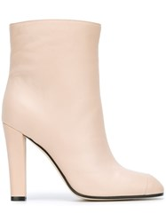 Agnona Ankle Boots Nude And Neutrals