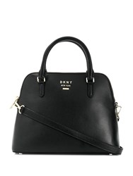 Dkny Large Whitney Dome Bag Black