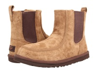 Ugg Bloke Ii Chestnut Suede Sheepskin Men's Pull On Boots Brown