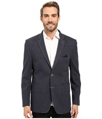Bugatchi Nino Knit Blazer Navy Men's Jacket