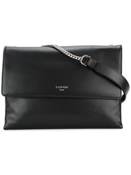 Lanvin Sugar Shoulder Bag Black