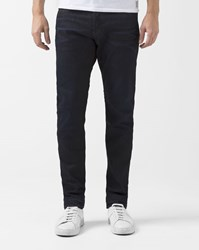 G Star 3301 Blue Dark Aged Stretch Tapered Visor Jeans