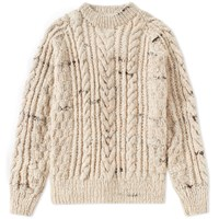 Chamula Fisherman Pullover Knit Neutrals