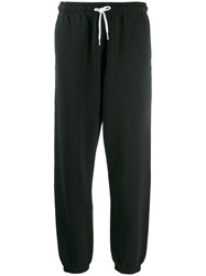 Polo Ralph Lauren Cropped Track Trousers Black