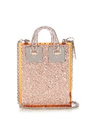 Sophie Hulme Compton Shoulder Bag Light Pink