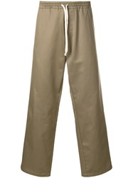 Societe Anonyme Hackney Loose Trousers Green