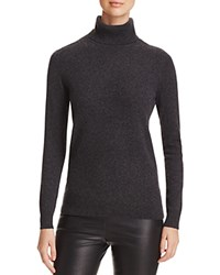 Bloomingdale's C By Cashmere Turtleneck Sweater Dark Slate