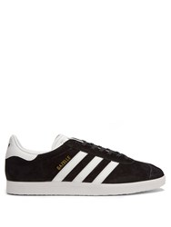 Adidas Gazelle Suede Trainers Black White