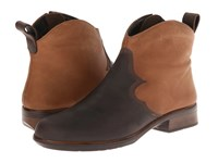 Naot Footwear Sirocco Crazy Horse Leather Saddle Brown Leather Carob Brown Leather Women's Boots Black