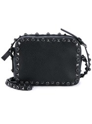 Valentino 'Rockstud Rolling Noir' Shoulder Bag Black