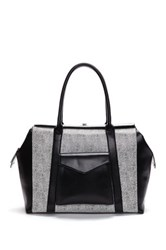 Penny Loves Kenny Indra Structured Handbag White