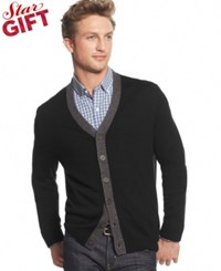 Club Room Merino Wool Cardigan Only At Macy's