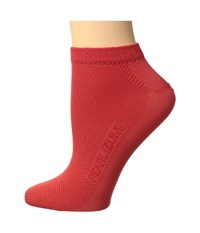 Pearl Izumi W Silk Lite Sock Poppy Red Women's Low Cut Socks Shoes