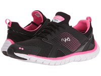 Ryka Pria Black Neon Flamingo Women's Shoes