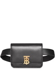 Burberry Tb Leather Belt Bag Black