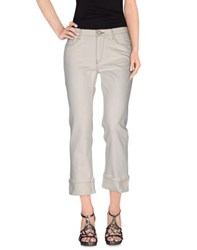 Paul Smith Denim Denim Trousers Women Ivory